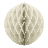 40cm Honeycomb Ball - Cream